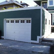 Pacific garages garage plans garage designs garage for Garage with deck on top