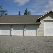 Pacific garages garage plans garage designs garage examples everett wa - Garage for rv model ...